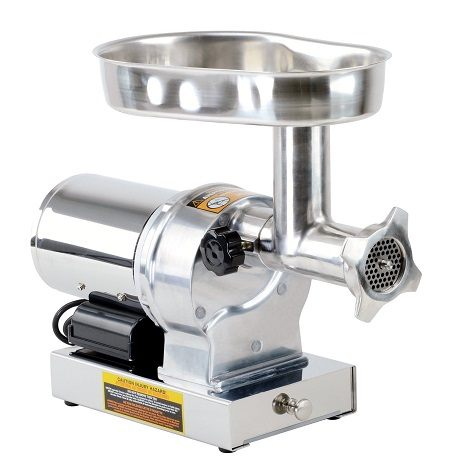 Kitchener #12 Commercial Grade Electric Stainless Steel Meat Grinder 3/4 HP (550W)